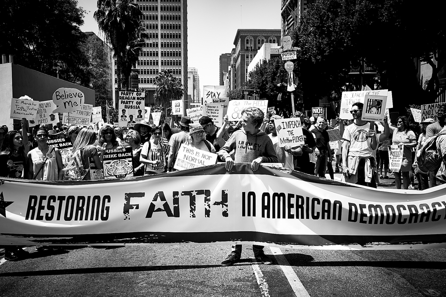 Restoring Faith in American Democracy by Peter Adams.