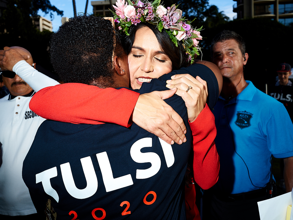 Tulsi Gabbard 2020 by Peter Adams.