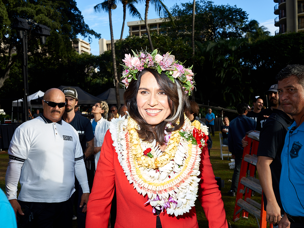 Tulsi Gabbard by Peter Adams.