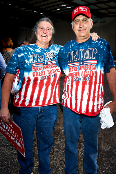 Trump Supporters by Peter Adams.