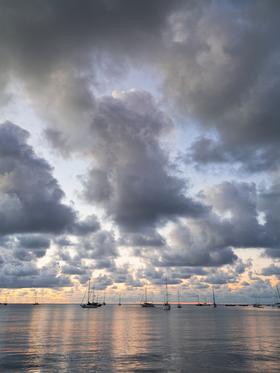 Cloud Cover by Peter Adams.