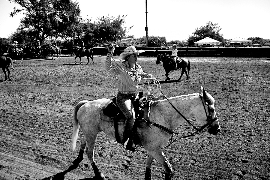 Kauai All Girls Rodeo by Peter Adams.