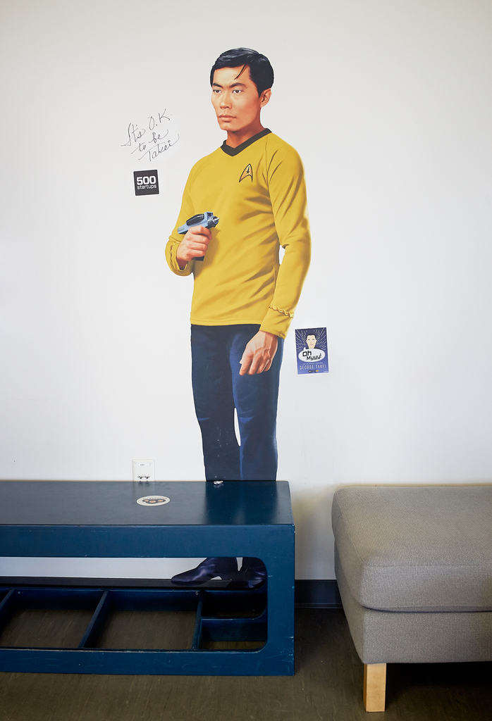 It's O.K. to be George Takei by Peter Adams.