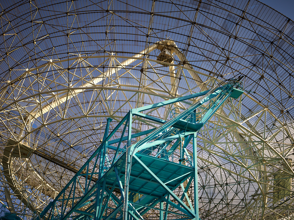 Stanford Dish Antenna by Peter Adams.