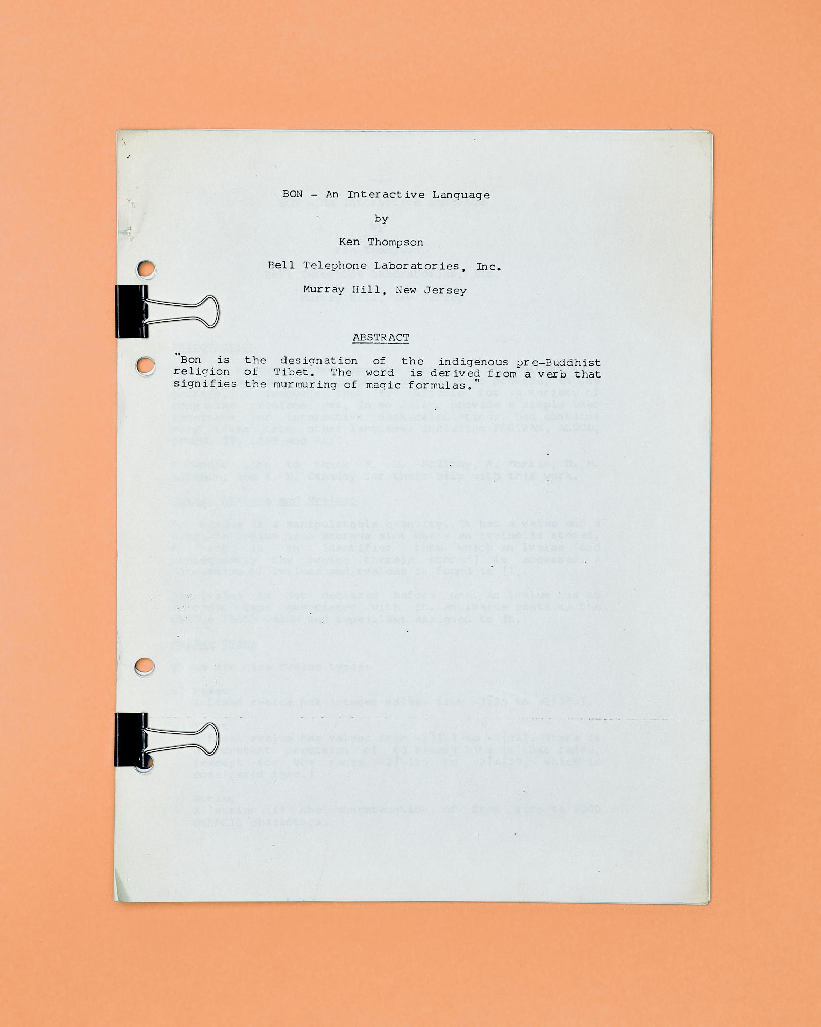 BON Programming Language by Peter Adams.