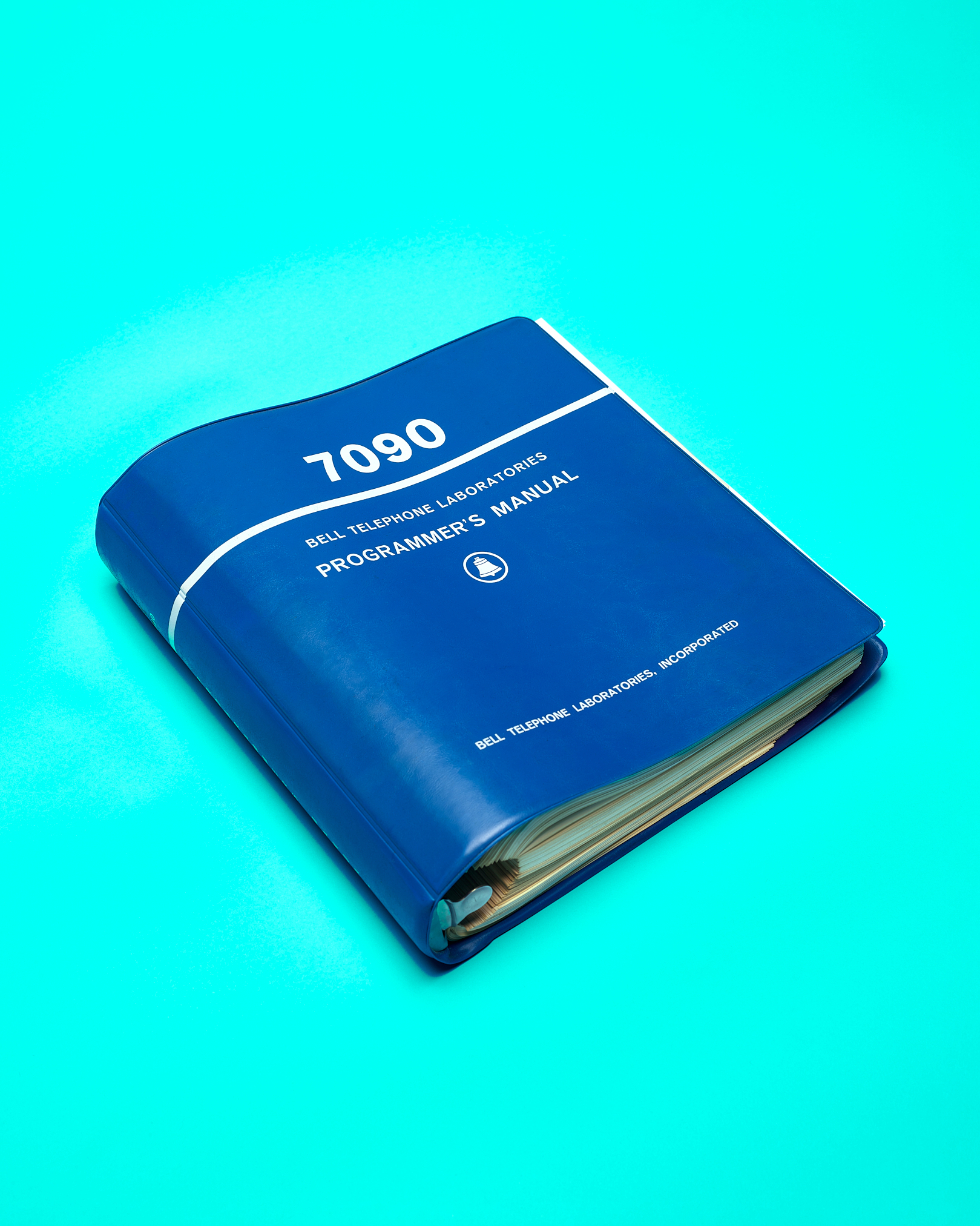 """The """"Blue Book"""" Programming Manual by Peter Adams."""