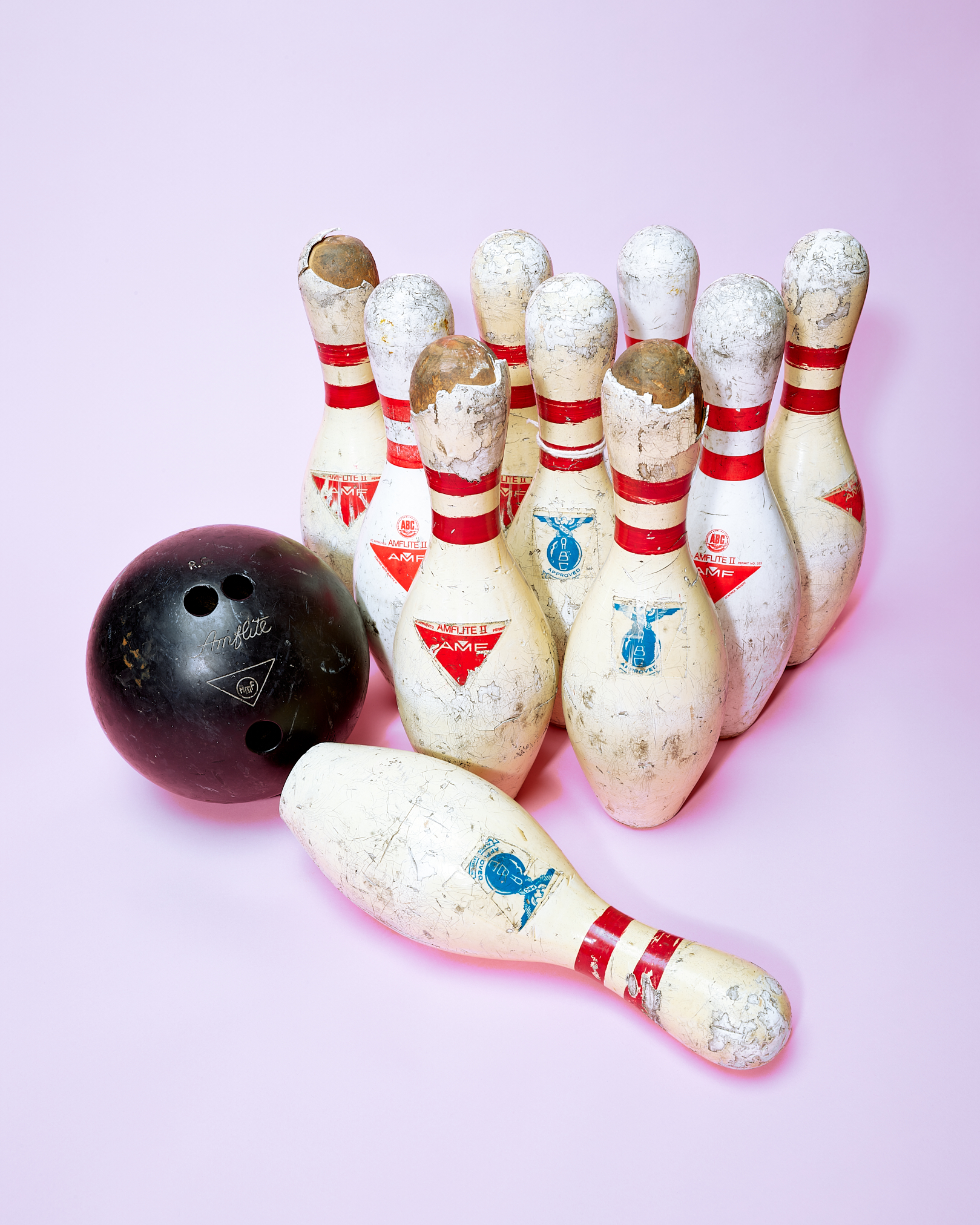 Bowling Pins by Peter Adams.