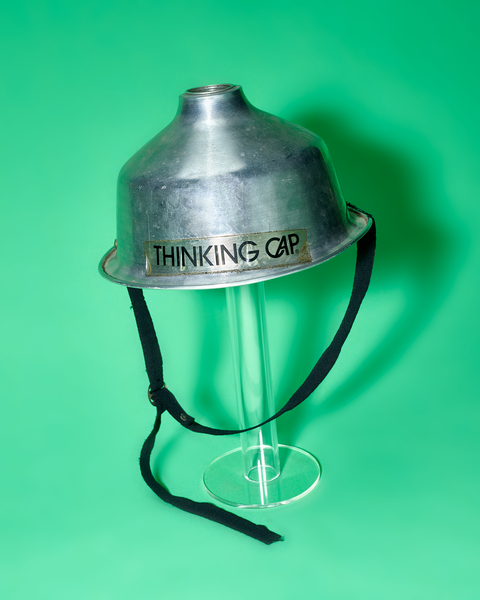 Thinking Cap by Peter Adams.