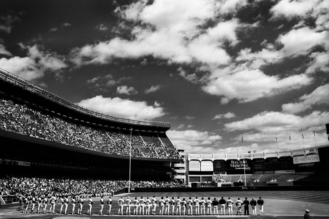 Yankee Stadium Opening Day by Peter Adams