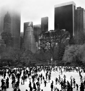 Wollman Skating Rink by Peter Adams