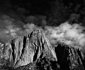 Yosemite Cloud Rising by Peter Adams.