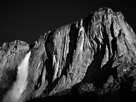 Upper Yosemite Falls by Peter Adams.