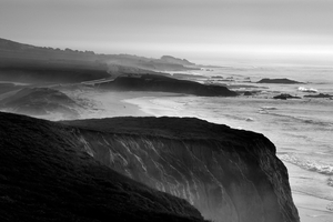 Pescadero Cliffs by .