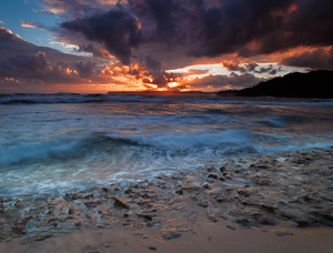 Kauai Sunrise by Peter Adams