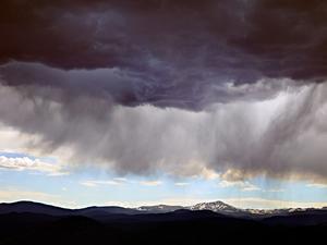 Rocky Mountain Rain by Peter Adams.