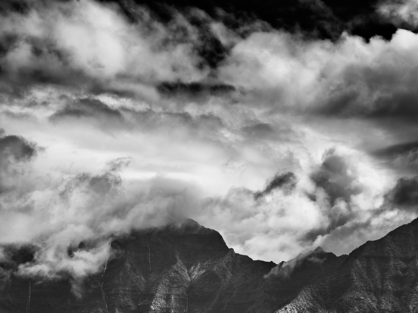 Cloud Falls by Peter Adams