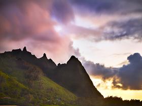 Bali Hai Sunset by Peter Adams