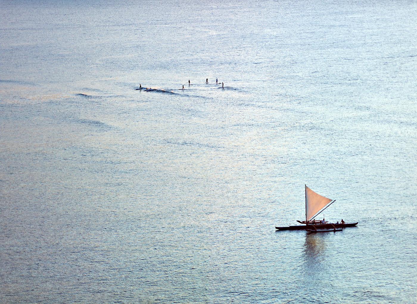 Bay Surf by Peter Adams.
