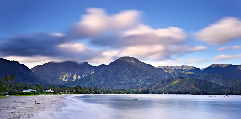 Hanalei Bay by Peter Adams.