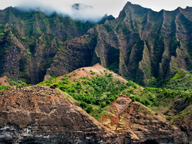 Na Pali Grove by Copyright Peter Adams. All Rights reserved..
