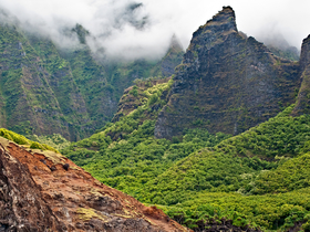 Na Pali by Copyright Peter Adams. All Rights reserved..