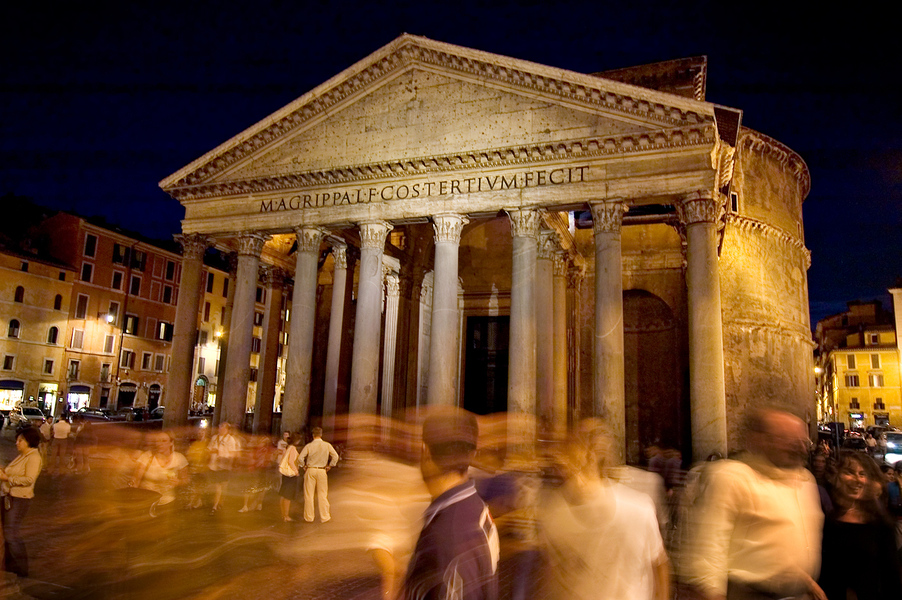 Pantheon by Peter Adams.