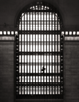 Grand Central Station Commuter by Peter Adams.