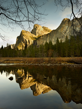 Yosemite Valley View by Peter Adams.