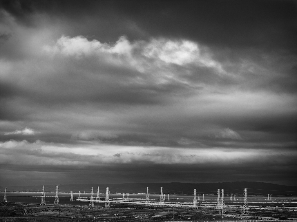 Electrical Towers by Peter Adams.
