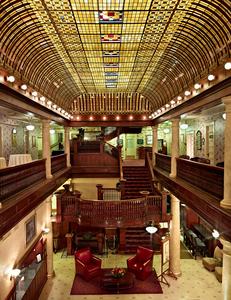 Hotel Boulderado Lobby by Peter Adams.