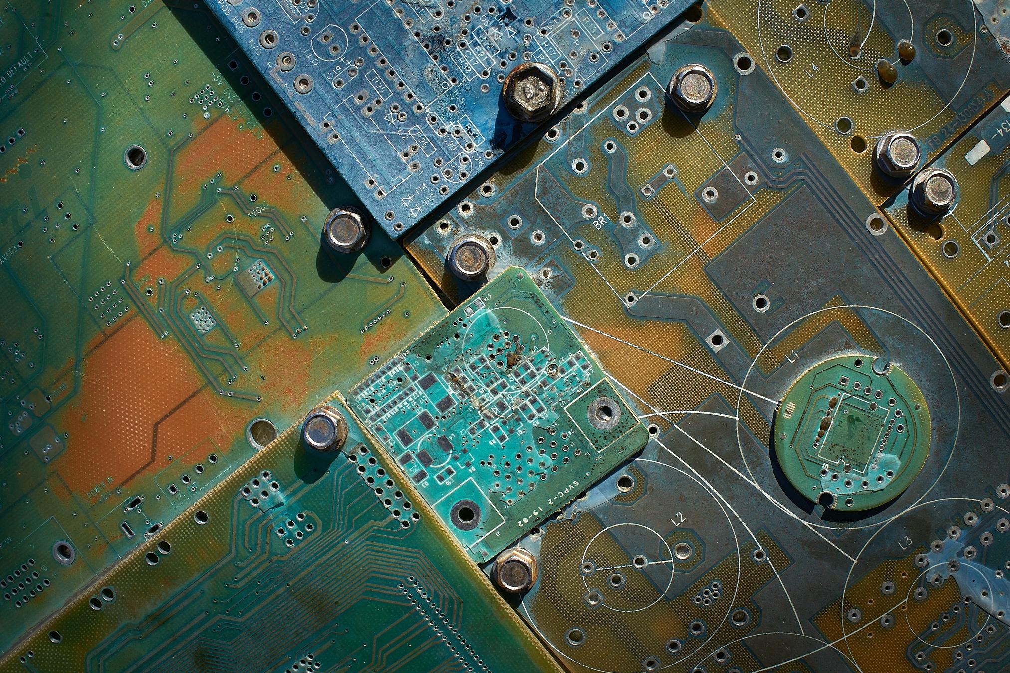 Circuit Boards by Peter Adams.