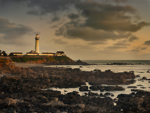 Pigeon Point Lighthouse by Copyright Peter Adams. All rights reserved. Photo may not be used or distributed in any way without prior writen approval..