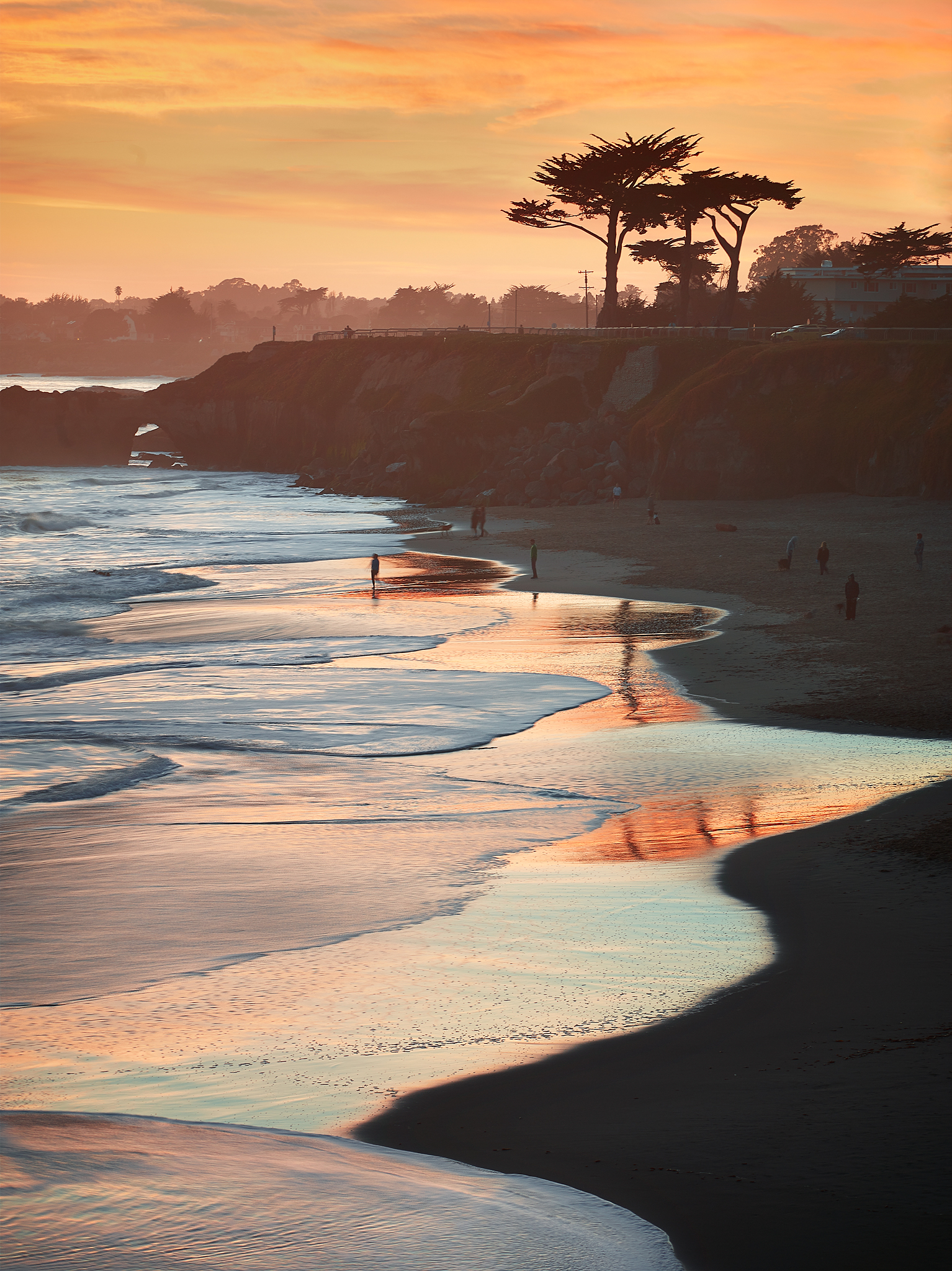 West Cliff Drive Sunset by Peter Adams.