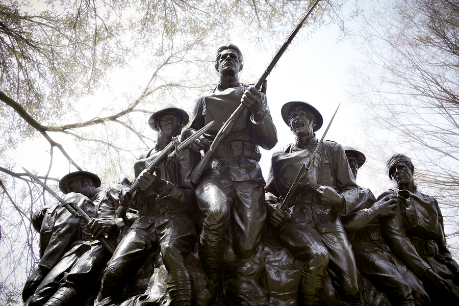 107th United States Infantry by Peter Adams.