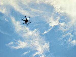 Hexacopter by Peter Adams.