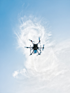 Hexacopter Rising by Peter Adams.