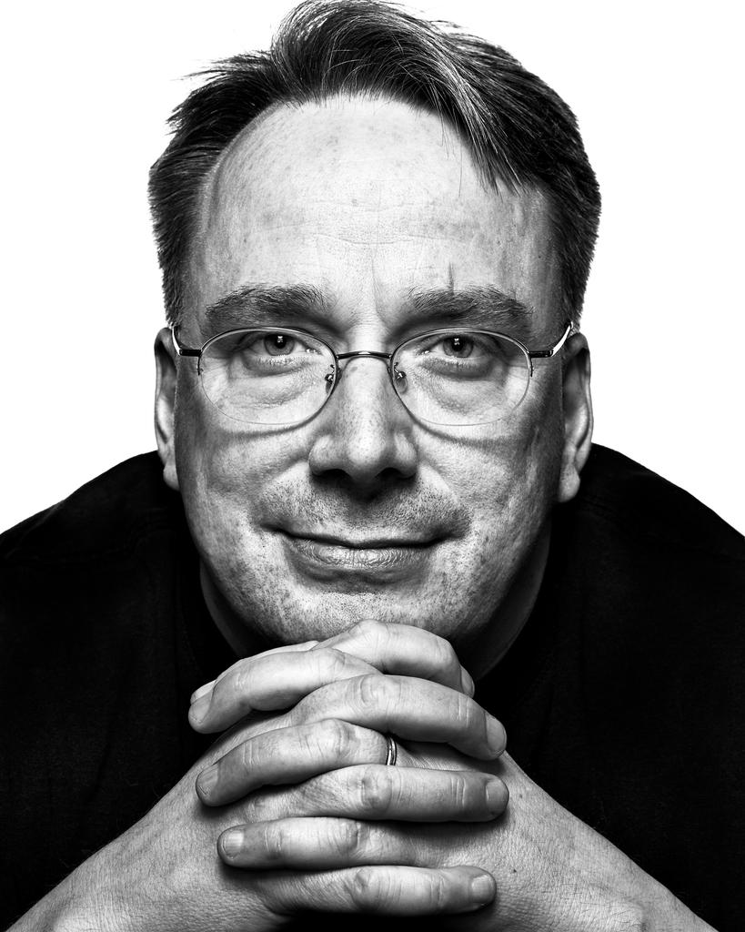Linus Torvalds by Peter Adams.