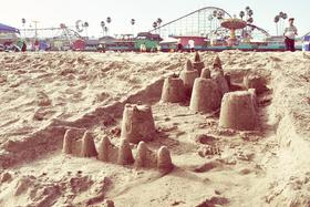 Sand Castle by Peter Adams.