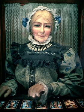 Grandma Fortune Teller by Peter Adams.