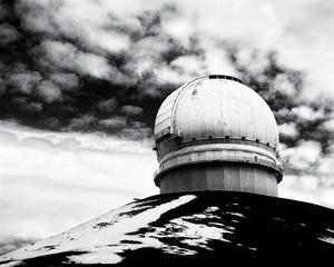 Canada-France-Hawaii Telescope by Peter Adams.