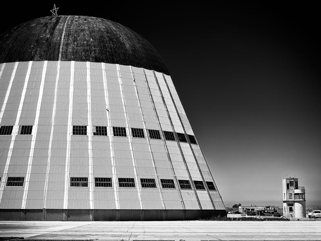 Hangar One by Peter Adams.
