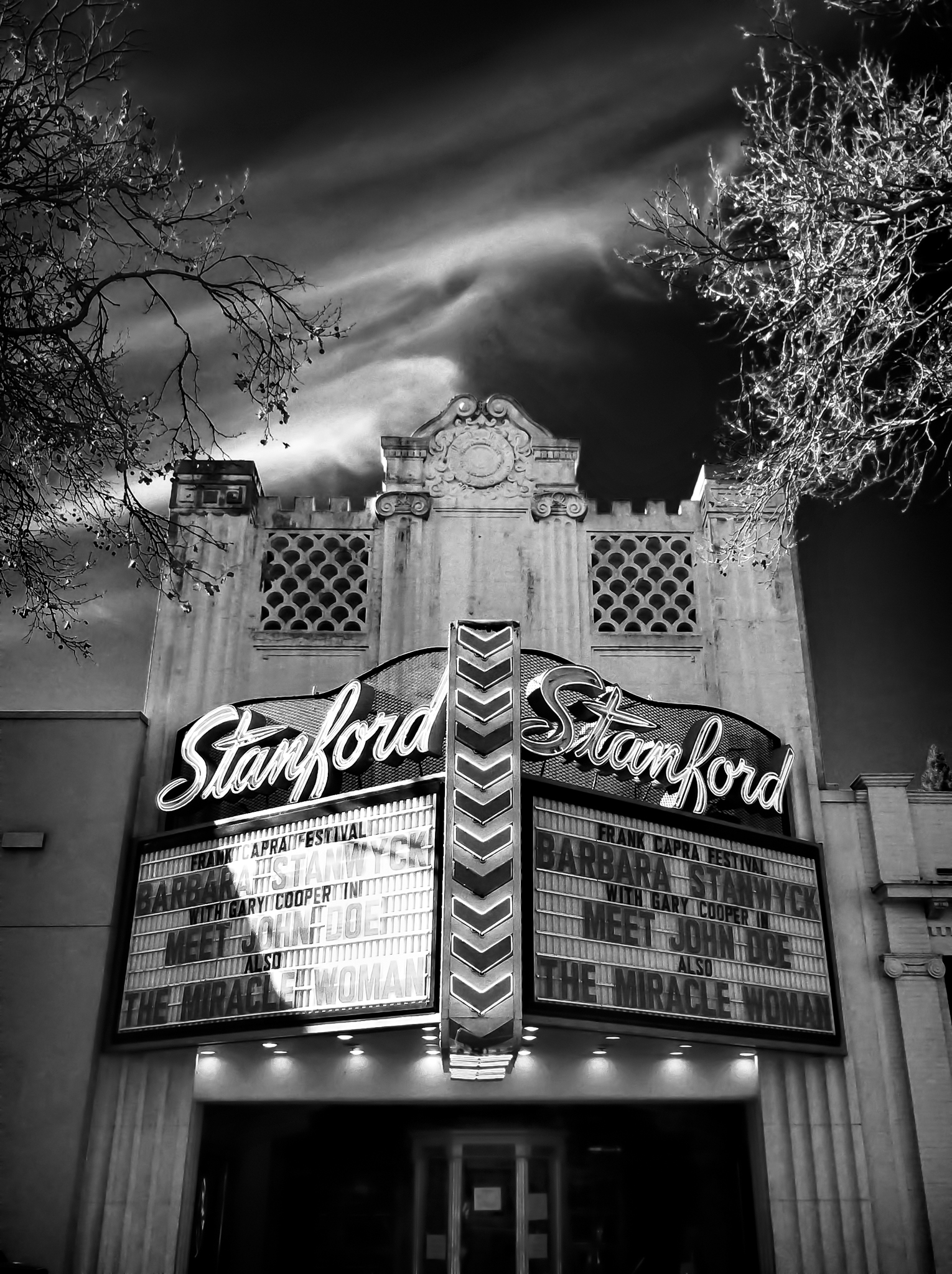 The Stanford Theater by Peter Adams.