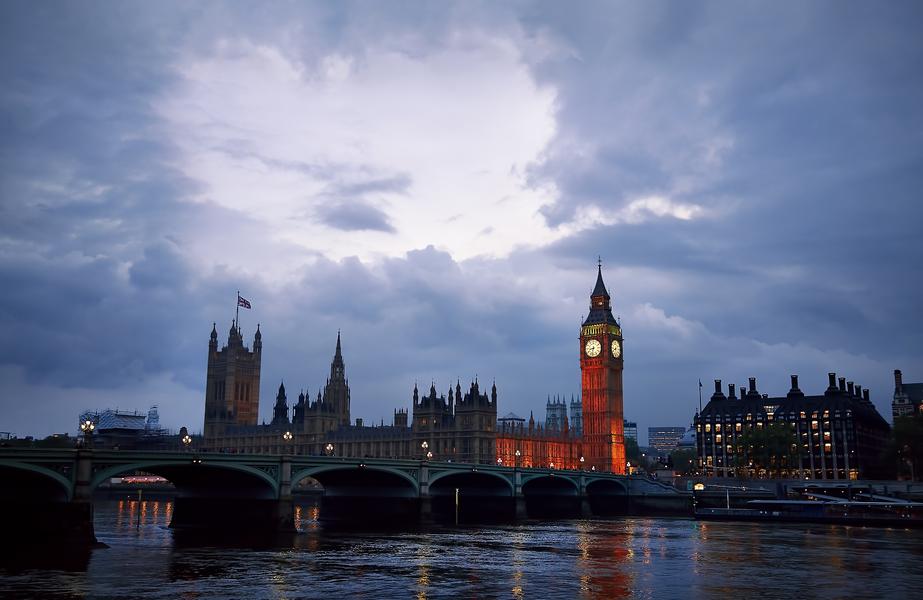 Westminster Bridge by Peter Adams.