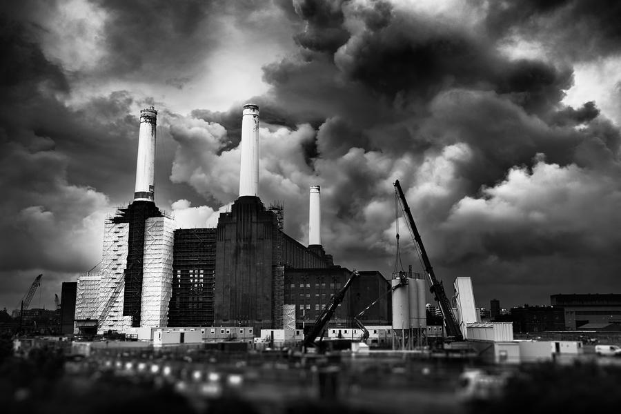 Battersea Power Station by Peter Adams.