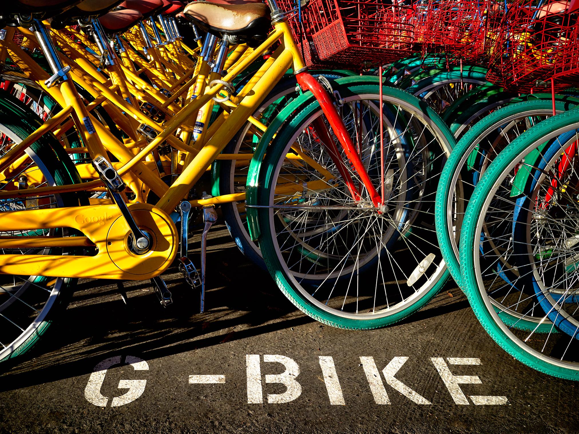 Google Bikes GBikes