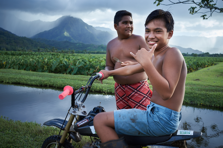 Taro Riders by Peter Adams.