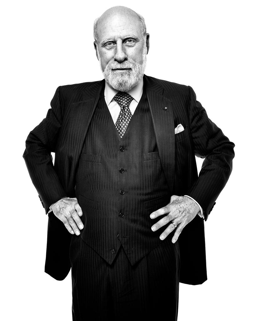 Vint Cerf by Peter Adams.