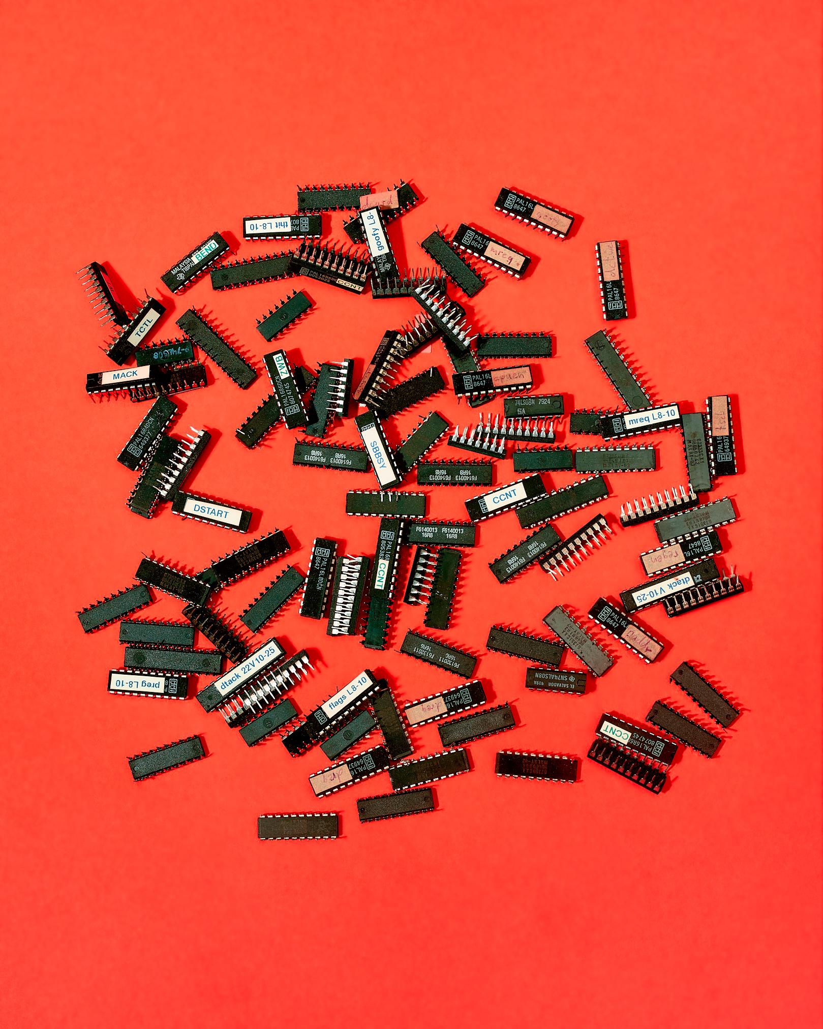 Programmable array logic chips