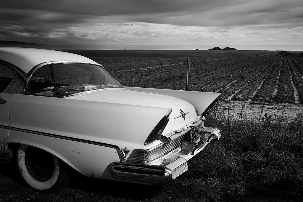 Abandoned Pontiac Peter Adams Photography.