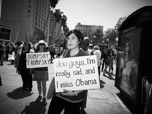 I Miss Obama by Peter Adams.